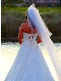 making wedding veils