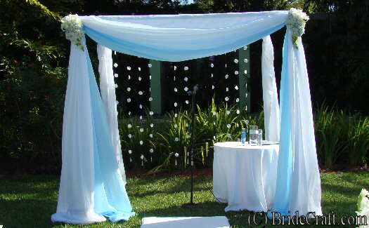 Build A Wedding Chuppah