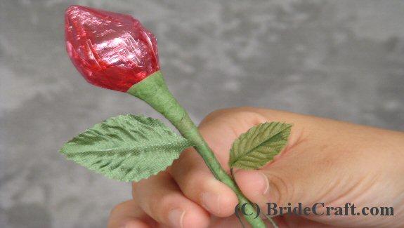 hershey kiss rose favor