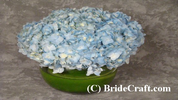 hydrangea centerpieces for weddings