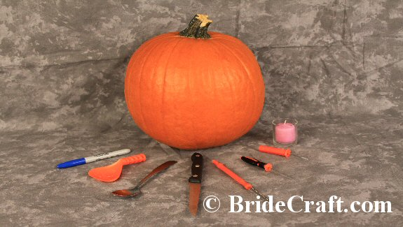Carve a Pumpkin Centerpiece for Your Wedding