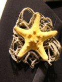 Starfish Boutonniere