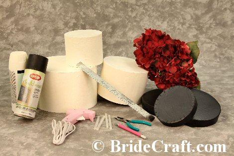 Design Your Own Cake Box : Wedding Cake Card Box