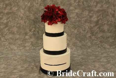 Wedding Cake Card Box – Round Wedding Card Box