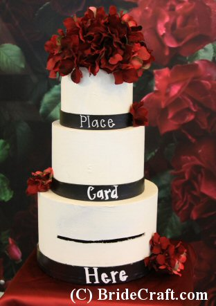 Design Your Own Wedding Cake Card Box!