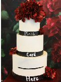 Wedding Cake Card Box